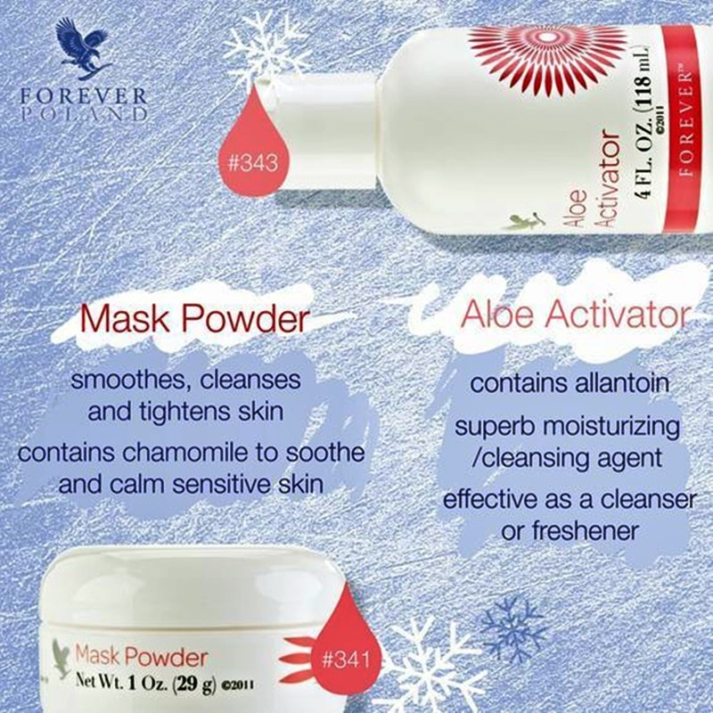 Aloe Activator + Mask Powder nemrégen