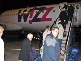 European Rally Malaga 2009 Wizzair London Luton