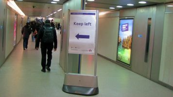 London 2010 Keep left
