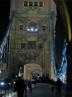 London 2010 Tower Bridge közelről